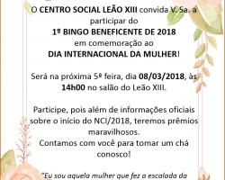 BINGO – LEÃO XIII